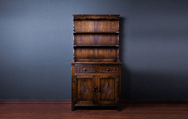 Antique oak spence 01