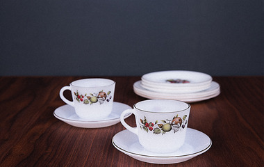 Antique tea set 04